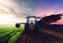 Basak Tractor Key Visual & Poster Design
